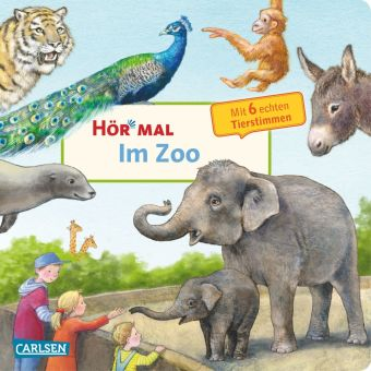 Hör mal - Im Zoo, m. Soundeffekten