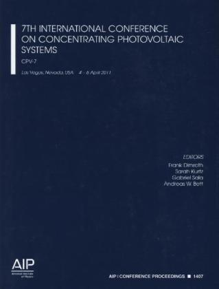 7th International Conference on Concentrating Photovoltaic Systems