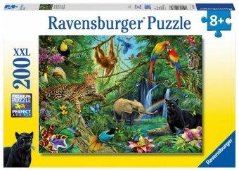 Tiere im Dschungel (Kinderpuzzle)