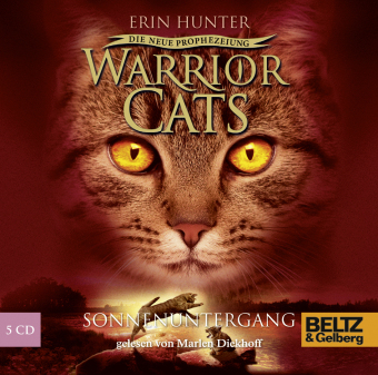 Warrior Cats, Die neue Prophezeiung, Sonnenuntergang, 5 Audio-CDs