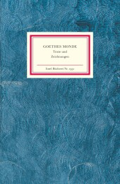 Goethes Monde Cover