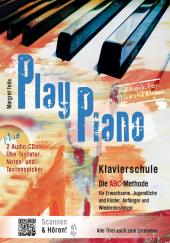 Play Piano, Klavierschule - Die ABC-Methode, m. 2 Audio-CDs Cover