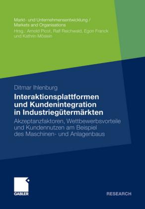 Interaktionsplattformen und Kundenintegration in Industriegütermärkten