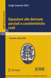 Equazioni alle derivate parziali a caratteristiche reali