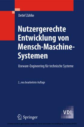 Nutzergerechte Entwicklung von Mensch-Maschine-Systemen