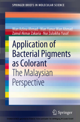 Application of Bacterial Pigments as Colorant