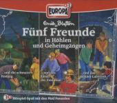 Fünf Freunde in Höhlen und Geheimgängen, 3 Audio-CDs