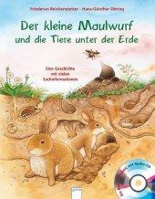 Der kleine Maulwurf und die Tiere unter der Erde, m. Audio-CD