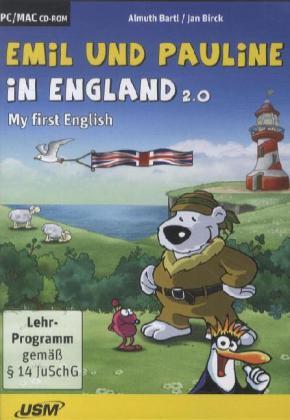 Emil und Pauline in England 2.0, 1 CD-ROM