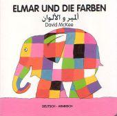 Elmar und die Farben, deutsch-arabisch Cover