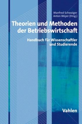 Theorien und Methoden der Betriebswirtschaft