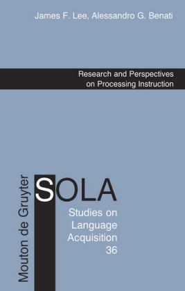 Research and Perspectives on Processing Instruction