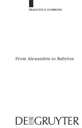From Alexandria to Babylon