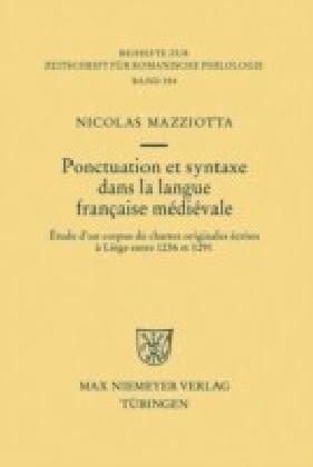 Ponctuation et syntaxe dans la langue française médiévale