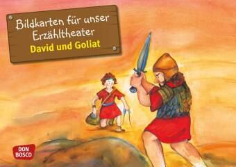 David und Goliat, Kamishibai Bildkartenset