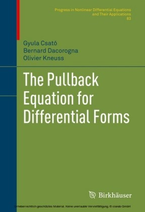 The Pullback Equation for Differential Forms