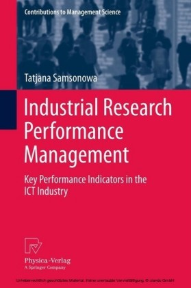 Industrial Research Performance Management