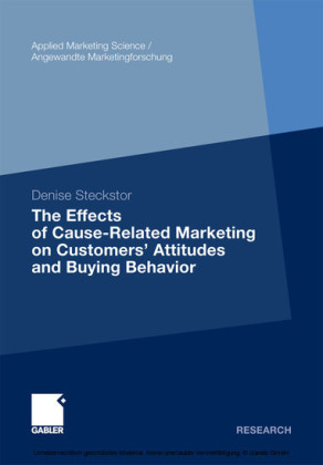The Effects of Cause-Related Marketing on Customers' Attitudes and Buying Behavior