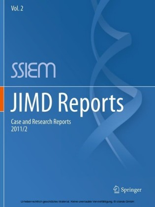 JIMD Reports - Case and Research Reports, 2011/2