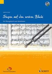 Singen auf den ersten Blick, m. Audio-CD Cover