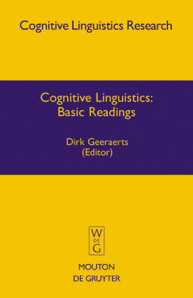 Cognitive Linguistics: Basic Readings