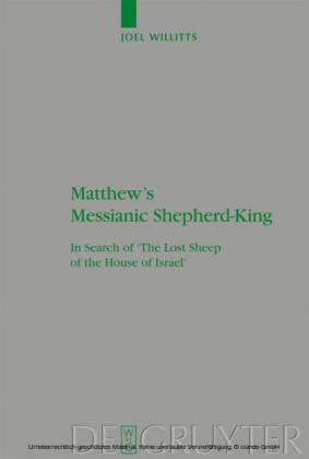 Matthew's Messianic Shepherd-King