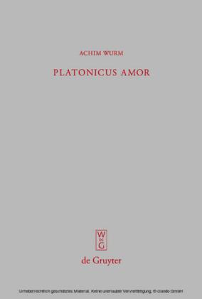 Platonicus amor
