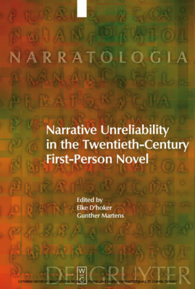 Narrative Unreliability in the Twentieth-Century First-Person Novel