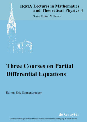 Three Courses on Partial Differential Equations