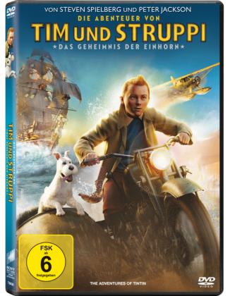 Die Abenteuer von Tim und Struppi - Das Geheimnis der Einhorn, 1 DVD