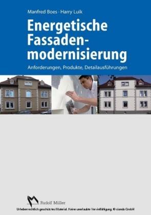 Energetische Fassadenmodernisierung