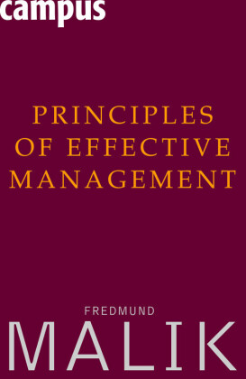Principles of Effective Management