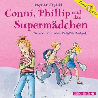 Conni, Phillip und das Supermädchen, 2 Audio-CDs
