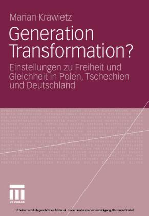 Generation Transformation?