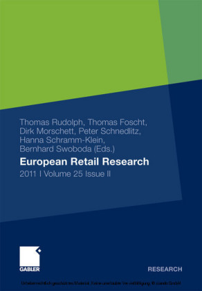 European Retail Research 2011, Volume 25 Issue II. Vol.25/2