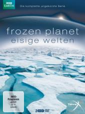 Frozen Planet - Eisige Welten. Die komplette ungekürzte Serie, 3 DVDs Cover
