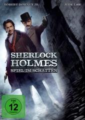 Sherlock Holmes 2 - Spiel im Schatten, 1 DVD Cover