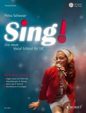 Sing! - Frauenstimme, m. Audio-CD Cover