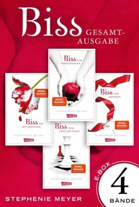 Biss: Alle vier Bände der Twilight-Serie in einer E-Box! (Bella und Edward)
