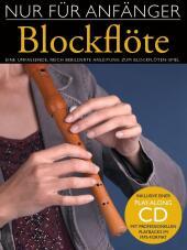 Nur Für Anfänger, Blockflöte, m. MP3-CD Cover