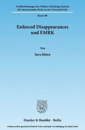 Enforced Disappearances und EMRK.
