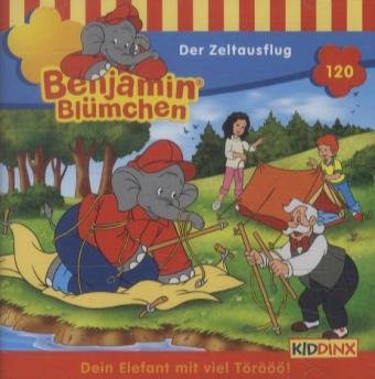 Benjamin Blümchen - Der Zeltausflug, 1 Audio-CD