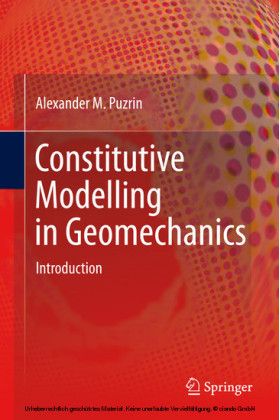 Constitutive Modelling in Geomechanics