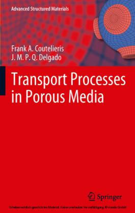 Transport Processes in Porous Media