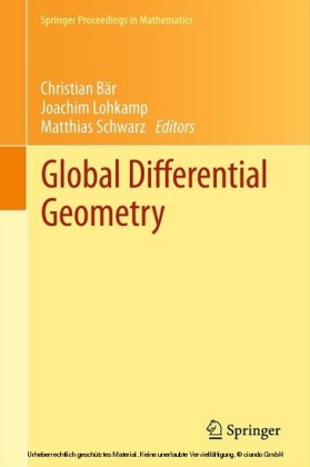 Global Differential Geometry