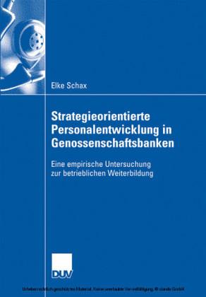 Strategieorientierte Personalentwicklung in Genossenschaftsbanken