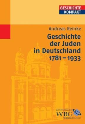 Geschichte der Juden in Deutschland 1781-1933