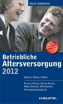 Betriebliche Altersversorgung 2012