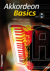 Akkordeon Basics, m. Audio-CD Cover