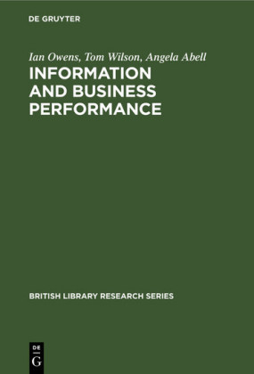 Information and Business Performance